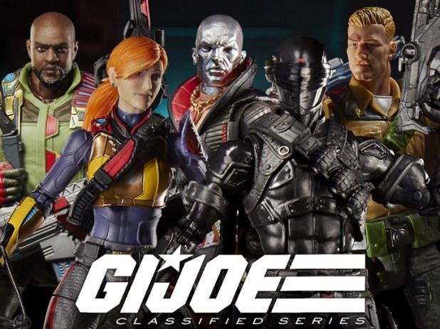 Hasbro G.I. Joe Classified 6″ Wave 1 Snake Eyes Figure Pre-Orders