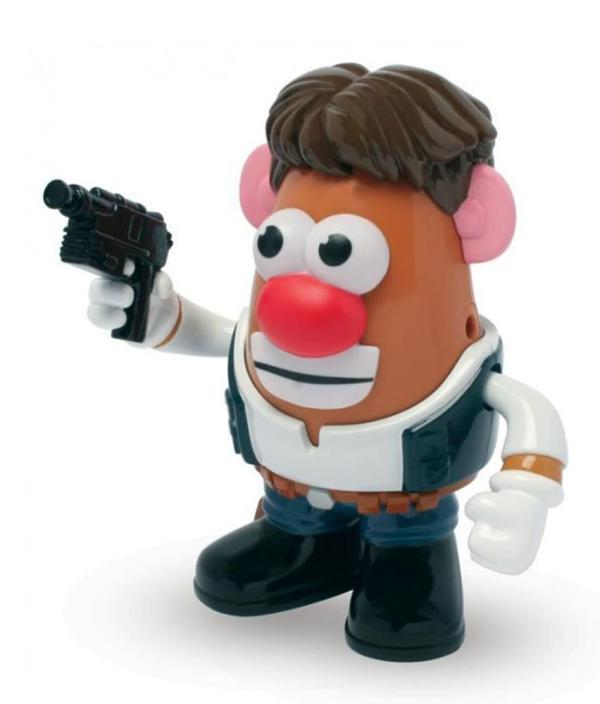 Star Wars . Potato Head Poptater Han Solo