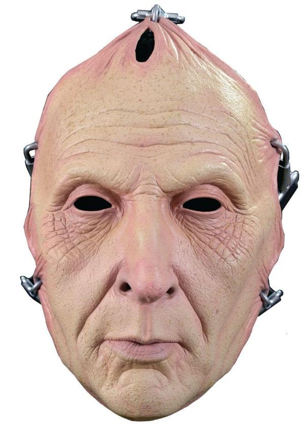 Adult Costume Face Mask Jigsaw Flesh
