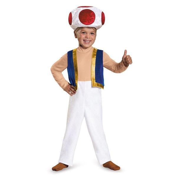 Toad Mario Halloween Costume