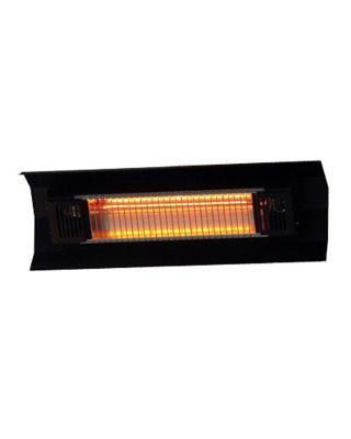 fire sense wall mounted infrared patio heater black 60460