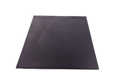 utility rubber mat black