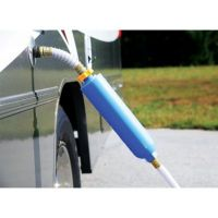 Camco TastePURE Water Filter with Flexible Hose Protector