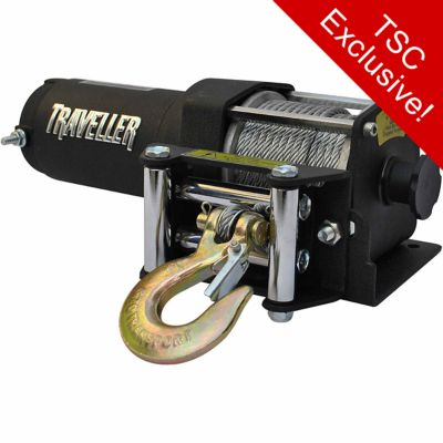 hight resolution of  traveller 12v atv electric winch 3 500 lb capacity on popscreen on on the back traveller winch wireless remote wiring diagram