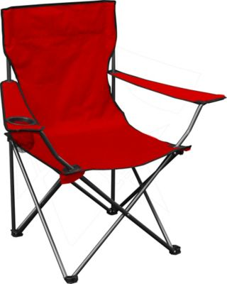 folding chair fabric tip ton review quik quad with red at tractor supply co