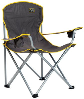 folding chair fabric adirondack chairs teak wood quik heavy duty with gray at tractor