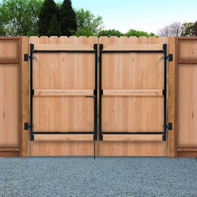 adjust a gate 60 in h 36 in 60 in w 3 rail contractor series kit for a 65 in frame for 6 ft and taller fences ag36 3