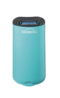 thermacell patio shield mosquito repeller glacial blue mr psb