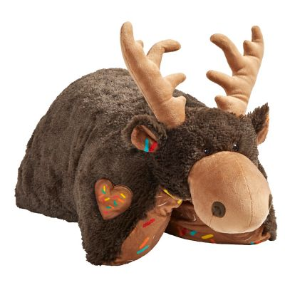 new pillow pets sweet scented chocolate moose pillow toy 04326013h