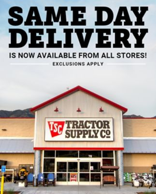 Pet Vet Clinic Tractor Supply : clinic, tractor, supply, Delivery, Tractor, Supply