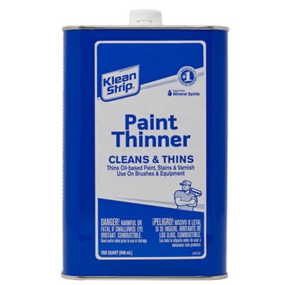 Difference Between Mineral Spirits And Paint Thinner