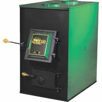 US Stove 1557M HotBlast Coal Furnace with Dual Blowers ...