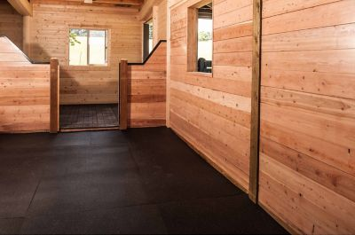 horse stall mat uses