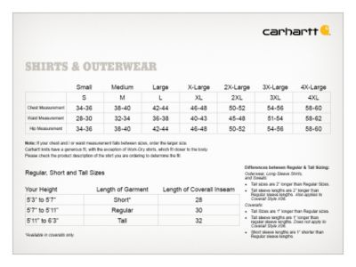 Size chart also carhartt men    workwear pocket short sleeve  shirt at tractor rh tractorsupply
