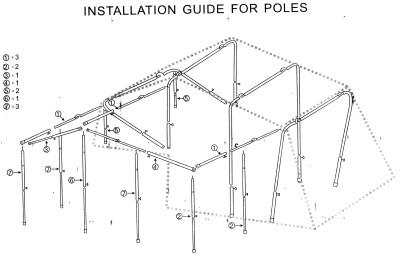 Tent Setup Guide 6004