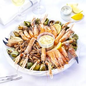 plateaux de fruits de mer fruits de