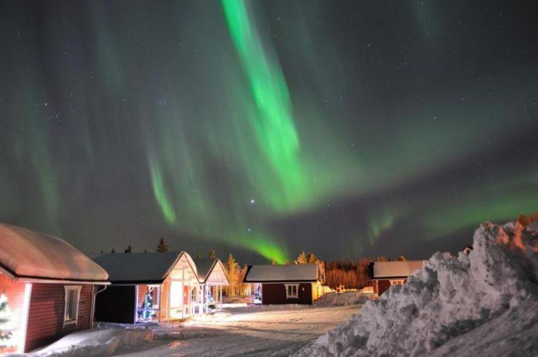 Ponte dell8 dicembre  villaggio di Babbo Natale  Rovaniemi  Finlandia