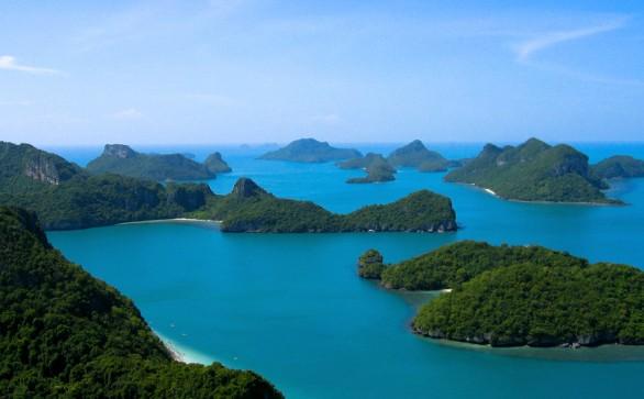 Dove andare in Thailandia  il parco marino di Ang Thong