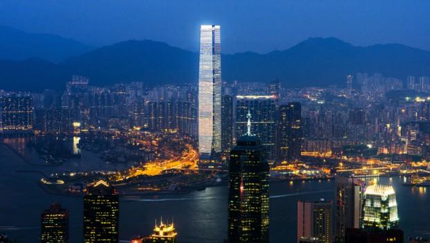 Cosa fare ad Hong Kong  Vista panoramica  Sky 100 del grattacielo ICC