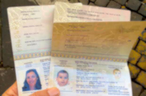 Passaporti per neonati  Documenti viaggio per bambini