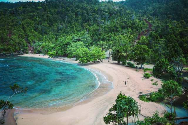 Image result for pantai pasir enam