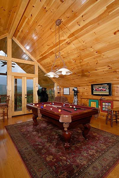 Sevierville Vacation Rentals  Cabin  Swingin On A Star