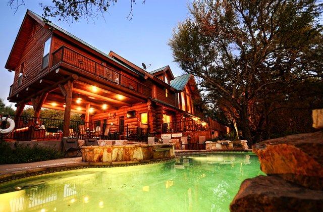 Log Country Cove Burnet TX  Resort Reviews