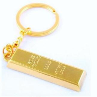 1oz Gold Bar Keyring