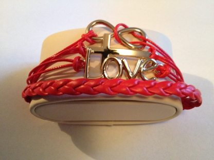 Red Love Armband