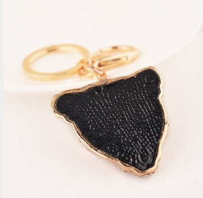The Gold Panther Keyring
