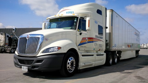 small resolution of the international prostar with 16 speed cummins eaton powertrain