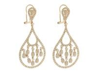 14K Rose Gold Diamond Unique Chandelier Earrings | Buy at ...