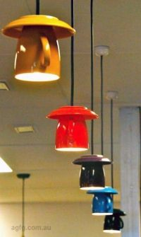 Coffee Cup Lights | Arts et Voyages