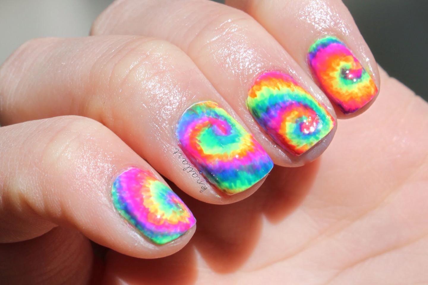 Really Cool Nail Art Design