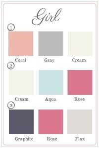 Girls Nursery Room Colours   Trusper