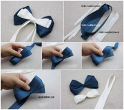 easy make hair bow