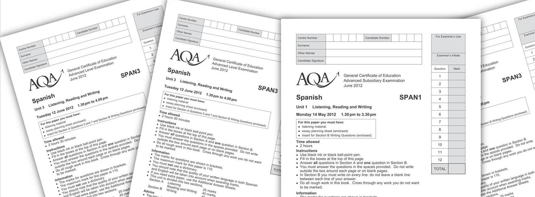 Spanish a level essay questions