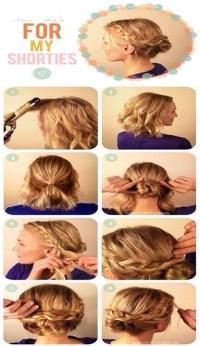 braid tutorial for short hair | Trusper