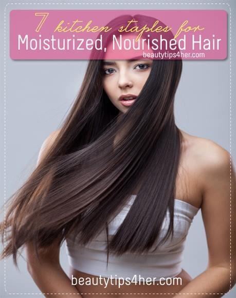Kitchen Staples Moisturized Nourished Hair Trusper