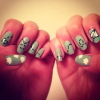 Quick And Easy Nail Art Pictures to Pin on Pinterest