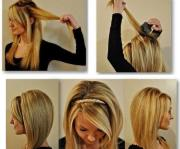 easy everyday hairstyle trusper