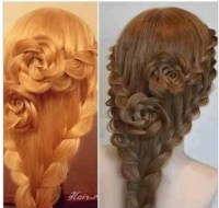 Indie rose hair braid | Trusper