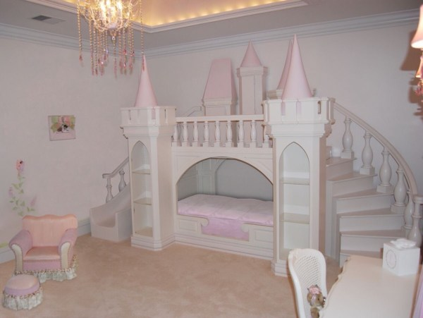 Toddler Princess Bedroom Ideas. Dream Castle Bed Little Trusper