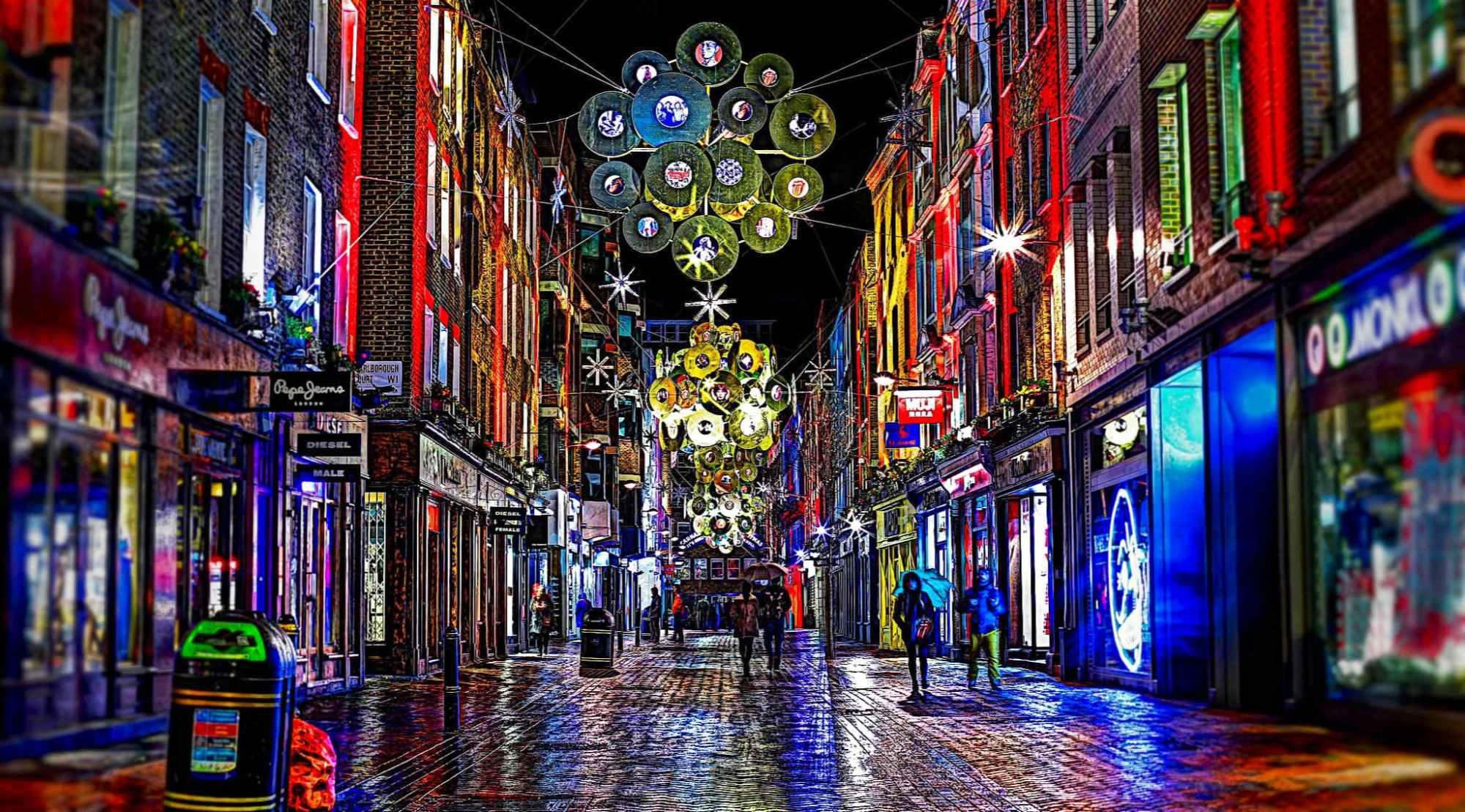 Encendido iluminacin navidea Londres fechas 2018