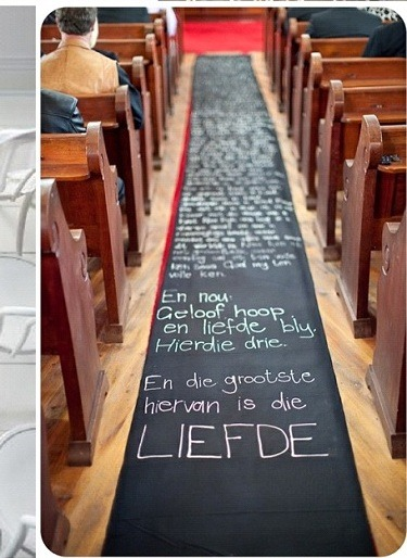 Dcoration Mariage Le Tapis Des Maris