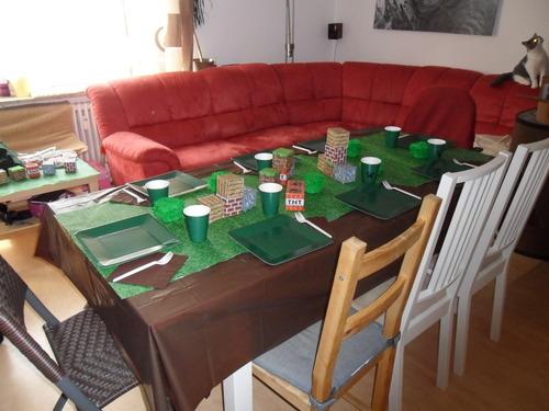 Minecraft Geburtstagsparty  SchleissheimerIdeen