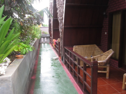 Se loger à Gili Trawangan : le Banana leaf bungalows