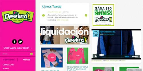 tienda en línea en el Ecuador