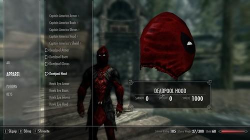 Skyrim Top Mods Deadpool DEADPOOL