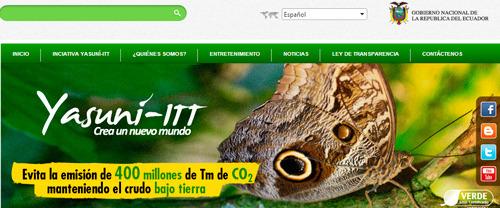 Ejemplo del crowdsourcing en el Ecuador: Yasuní ITT
